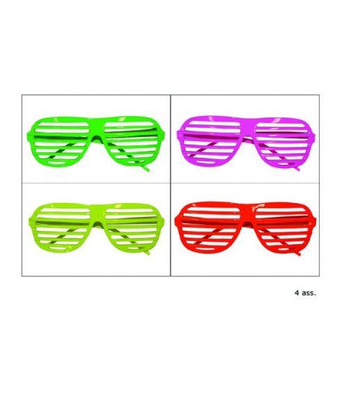 Neon briller med gitter