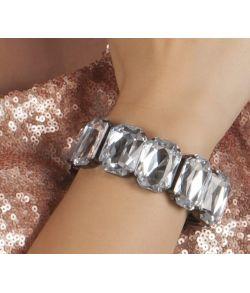 Krystal armbånd