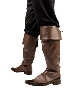 Støvleovertræk, brun
