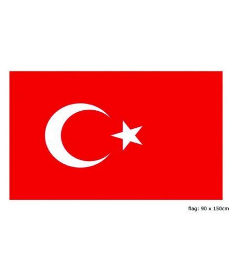 Flag Tyrkiet, 90 x 150