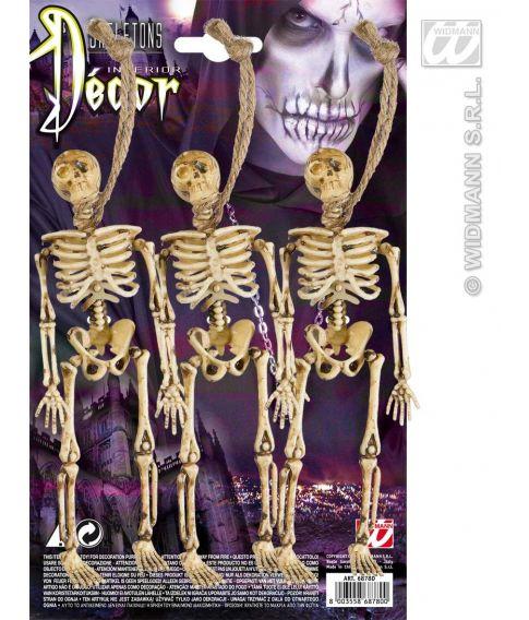 Hængte skeletter