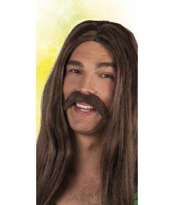 Hippie overskæg