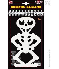 Guirlande, skeletter