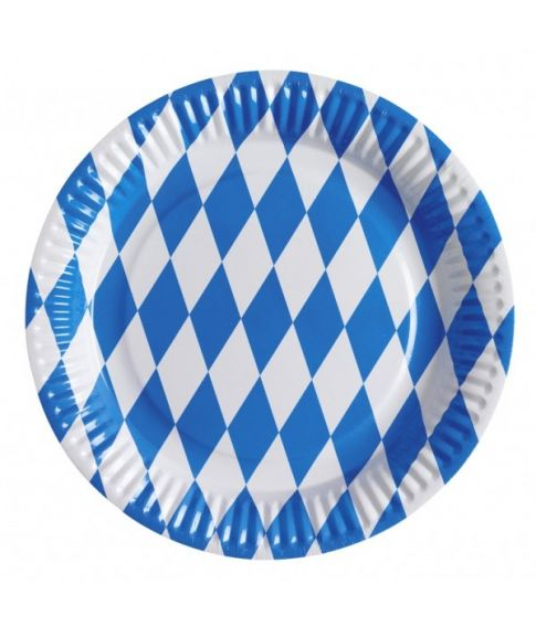 Oktoberfest tallerkener