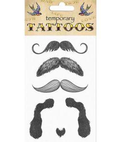 Moustache tatoveringer