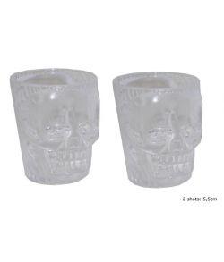 Kranie shotglas, 2 stk.
