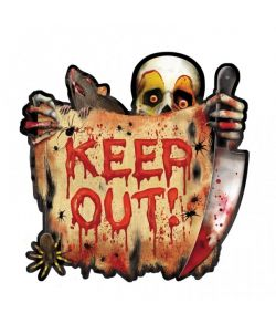 Creepy Clown skilte