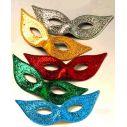 Charleston Halvmasker til maskebal, maskerade maske
