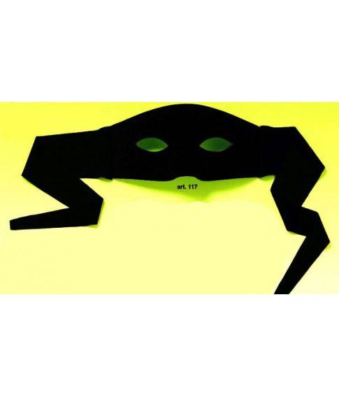 zorro maske, halvmaske