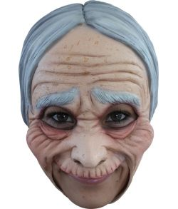 Gammel dame maske