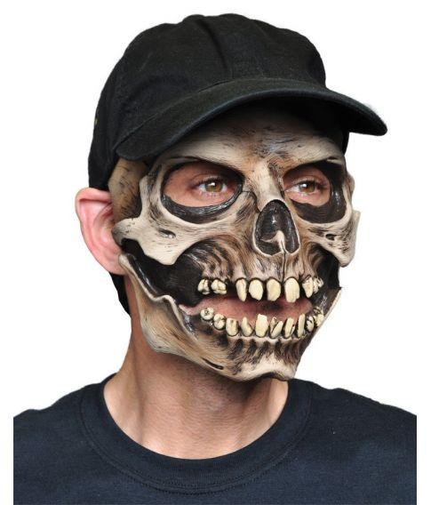 Kraniemaske med cap