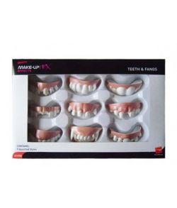 9 sæt tænder