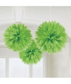 Papir pomponer grøn