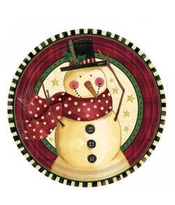Snemand tallerkener