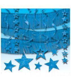 Festpyntsortiment, blå