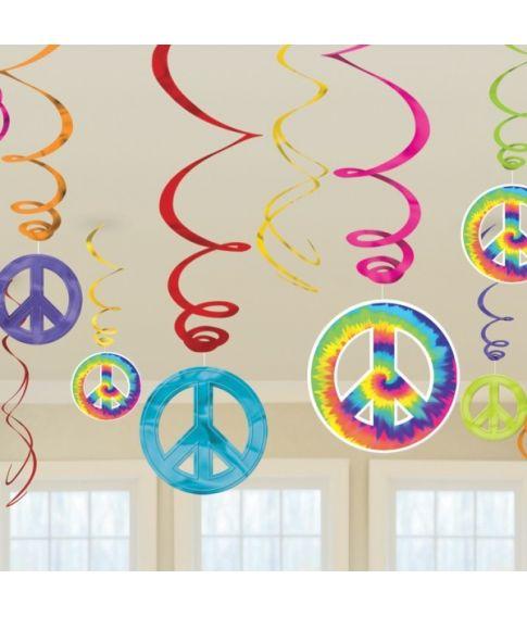 Hippie loftdekorationer