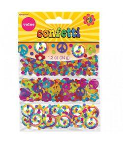 Hippie konfetti