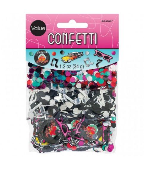 50er konfetti