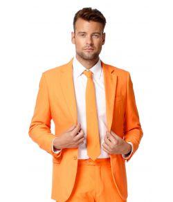 Ensfarvede OppoSuits jakkesæt
