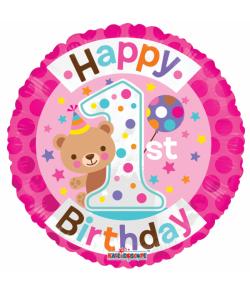 Fødselsdags folieballoner