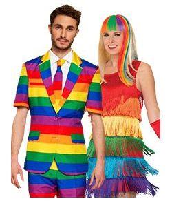 Pride kostumer og pynt