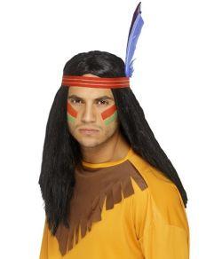 Indianer parykker