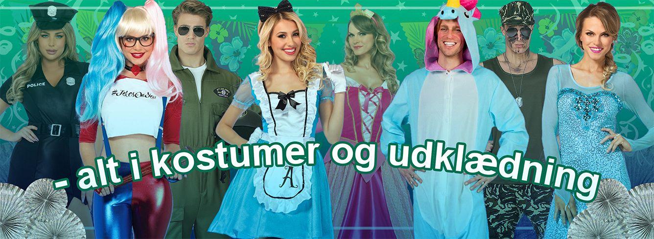 Alt i kostumer og udklædning!